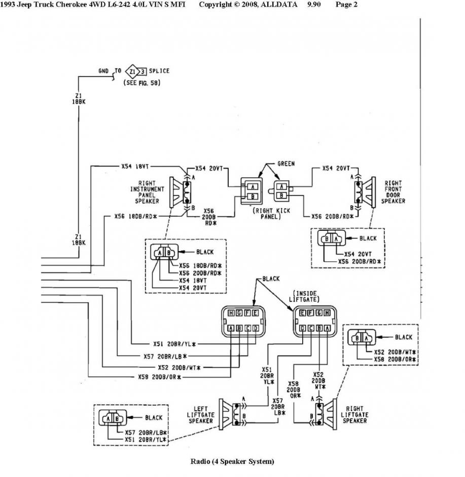 92 Cherokee Radio Install Aw4 Wiring Diagram 100k Miles I6 Ho Np242 D30 C825 35 Re Lift Common Links Budget Mods List And All You Ever Wanted To Know About An Xj