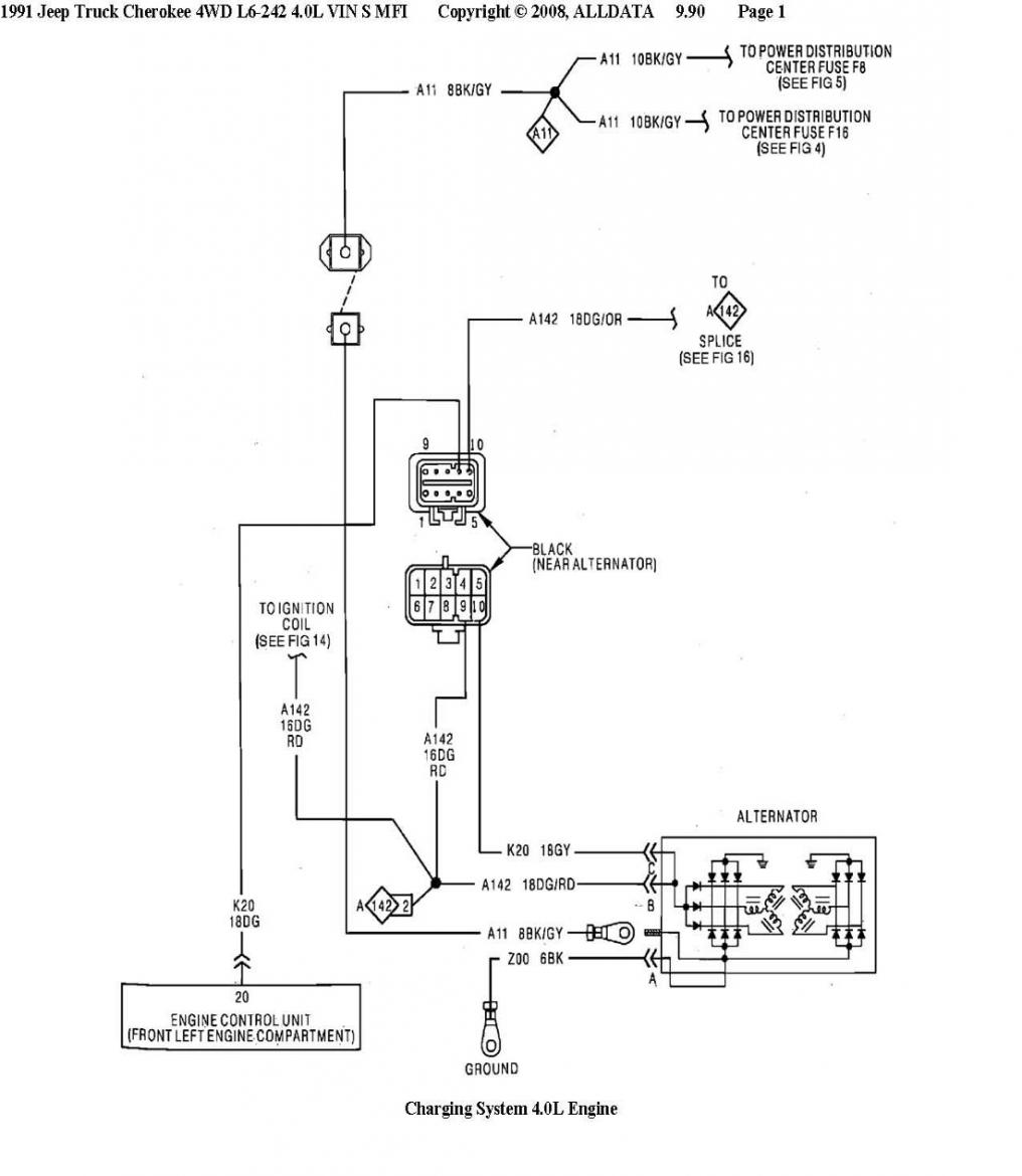 2001 Jeep Cherokee Denso Alternator Wiring Diagram Free Download Nippondenso External Voltage Regulator Location