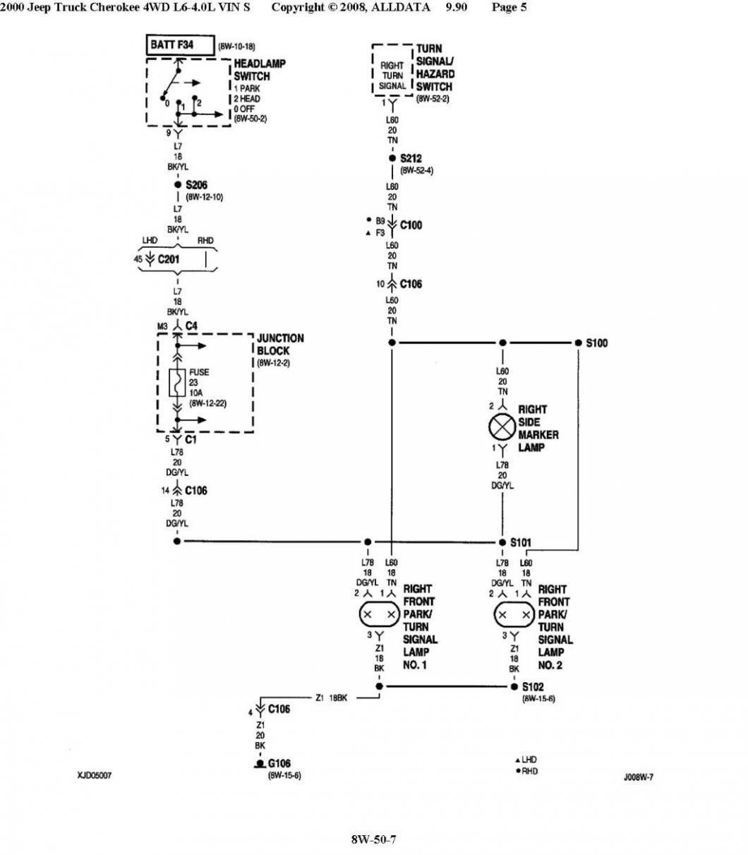 Jeep Headlight Switch Wiring Diagram