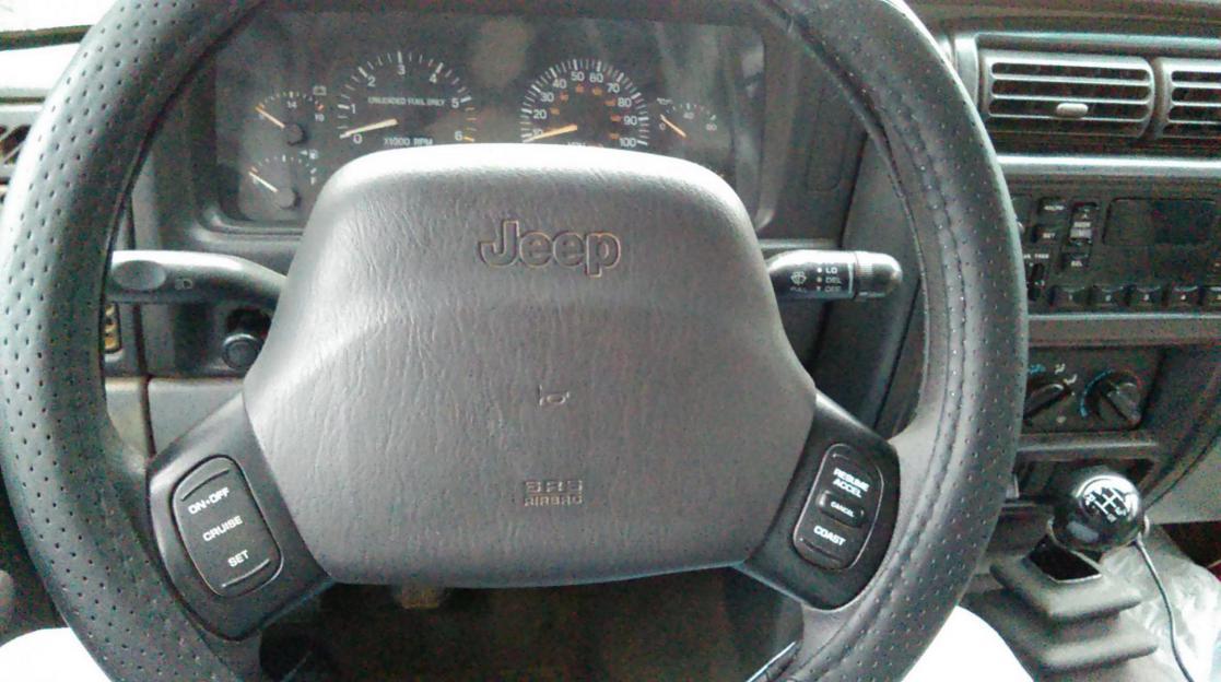 1998 Jeep Cherokee Steering Column Swap From Fixed To Tilt