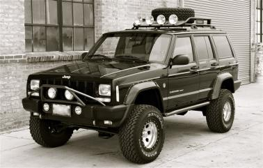 Front Bumper Light Bar For Xj Jeep Cherokee Forum