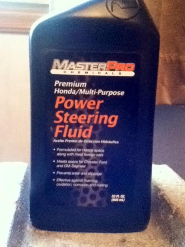 Power steering fluid - Jeep Cherokee Forum
