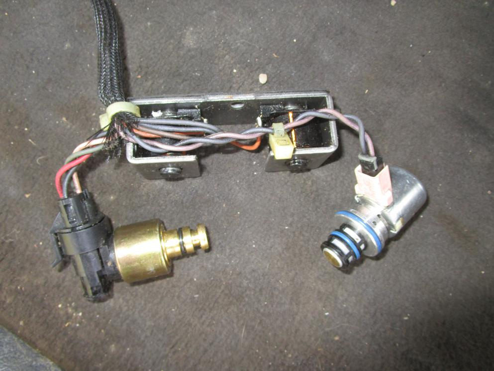 Overdrive Solenoid and Torque Converter Clutch failure