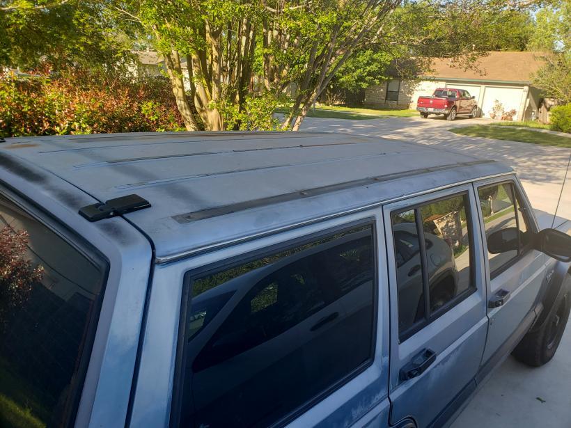 Oem Roof Rack Rails Removal Jeep Cherokee Talk