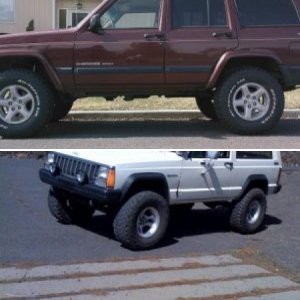 My old XJ...workin on the new one