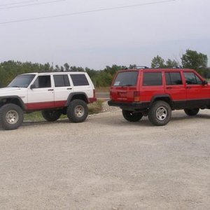 me and mikeys jeeps after