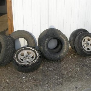 my old tires