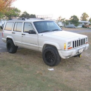 '99 XJ when purchased. $6000 fully loaded, 1 owner, pulled behind RV (bad found out later). white clean no body damage, no undercarage damage 1 black