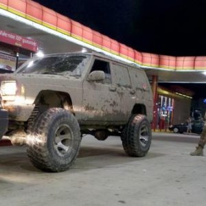 Maybe a little muddy? Late summer night