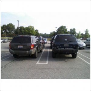 A stock Wj and Mine....look at the bumpers ...ya, kind of diffrent