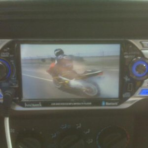 in-dash dvd player i installed in the jeep