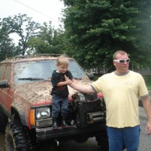 MY BOYS 1ST TIME IN THE MUD