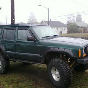 my new jeep xj