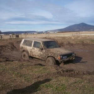 goin into the mud pit