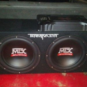 definatly switching over to a full MTX system door speakers and amp included