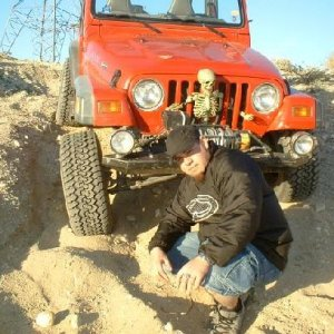 me at edom hill with my 99tj
